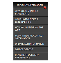 Lotto Magic Back Office - You account, statements and earnings information